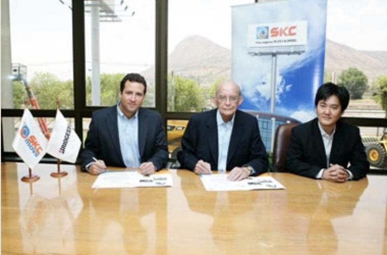 ICV y SKC Servicios Automotrices, firman acuerdo para suministro de neumáticos.