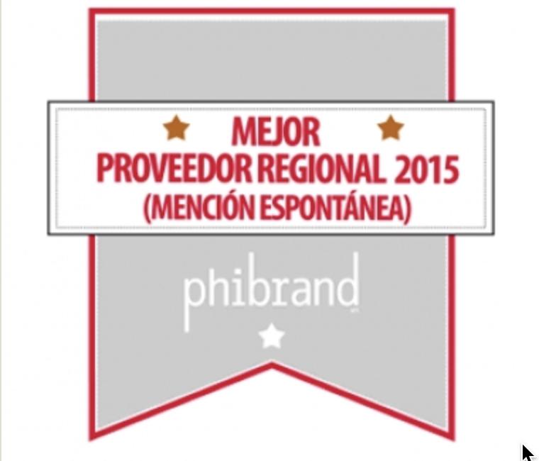 Ingeniería Civil Vicente S.A. recibe premio Phibrand en 4° Ranking de Proveedores de la Minería 2015