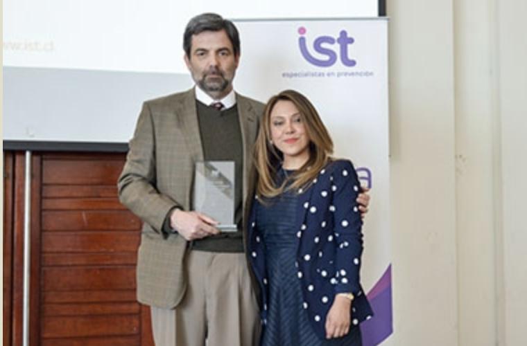 """ICV es distinguida regionalmente con el """"Premio a la Excelencia"""" Año 2017, del Instituto de Seguridad del Trabajo, XII Región de Magallanes."""